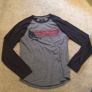 Abercrombie and Fitch ski Colorado t shirt